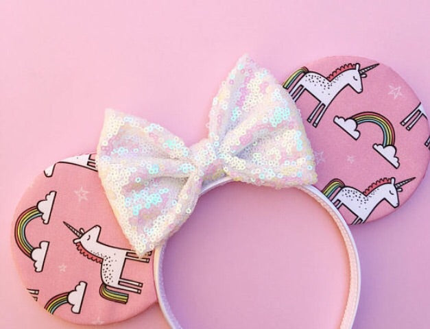 Pink Unicorn Ears