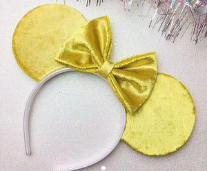 Gold Holographic Mouse Ears