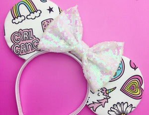 Girl Gang Mouse Ears