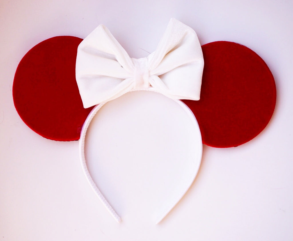 Red Velvet Mouse Ears