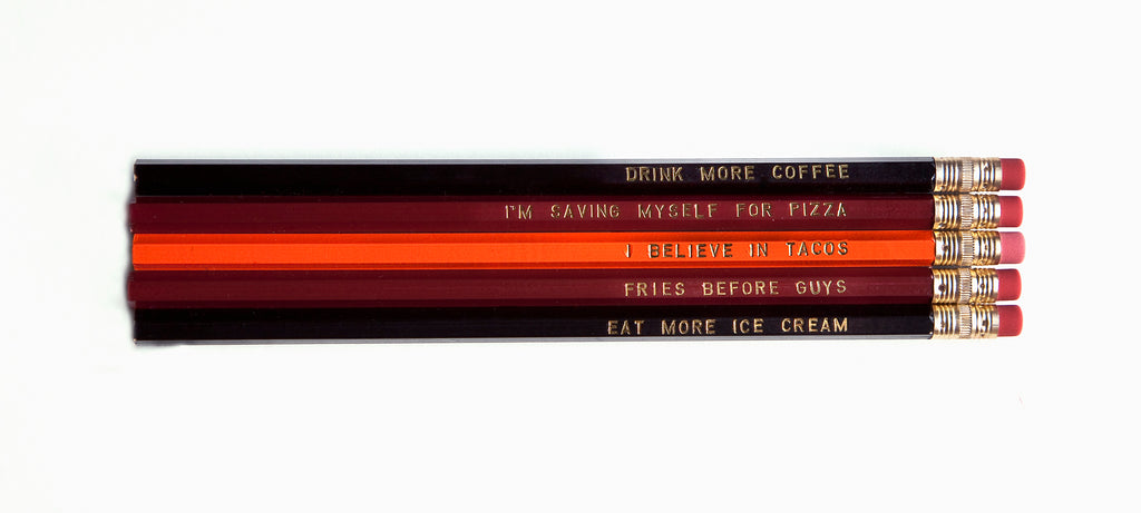Food Pencil Set