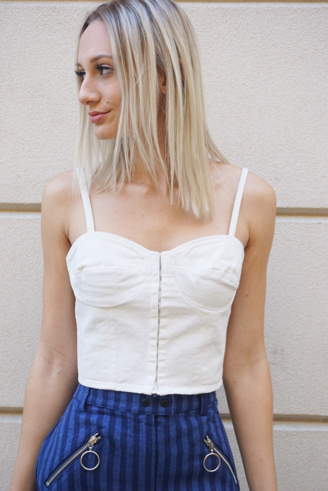 """Stagecoach"" Corset Top"