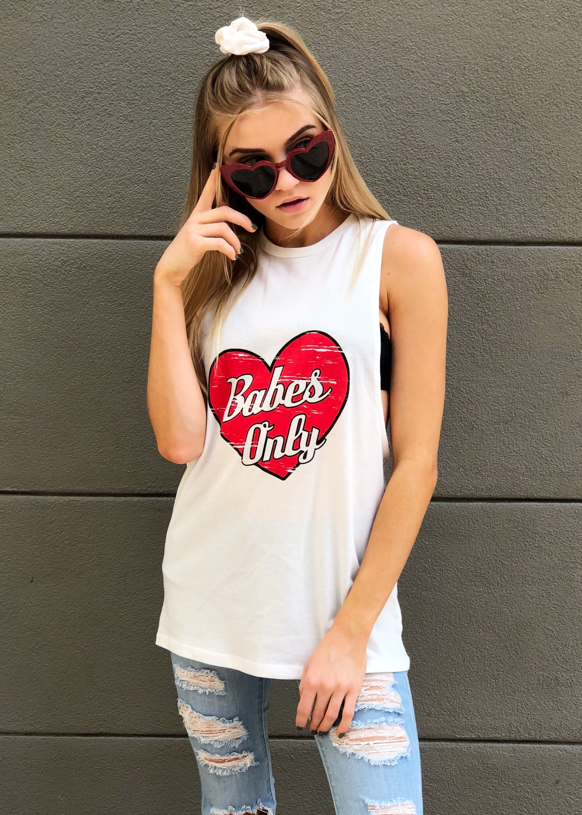 """Babes Only"" Tank"