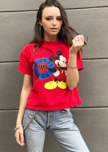 Red Mouse Tee