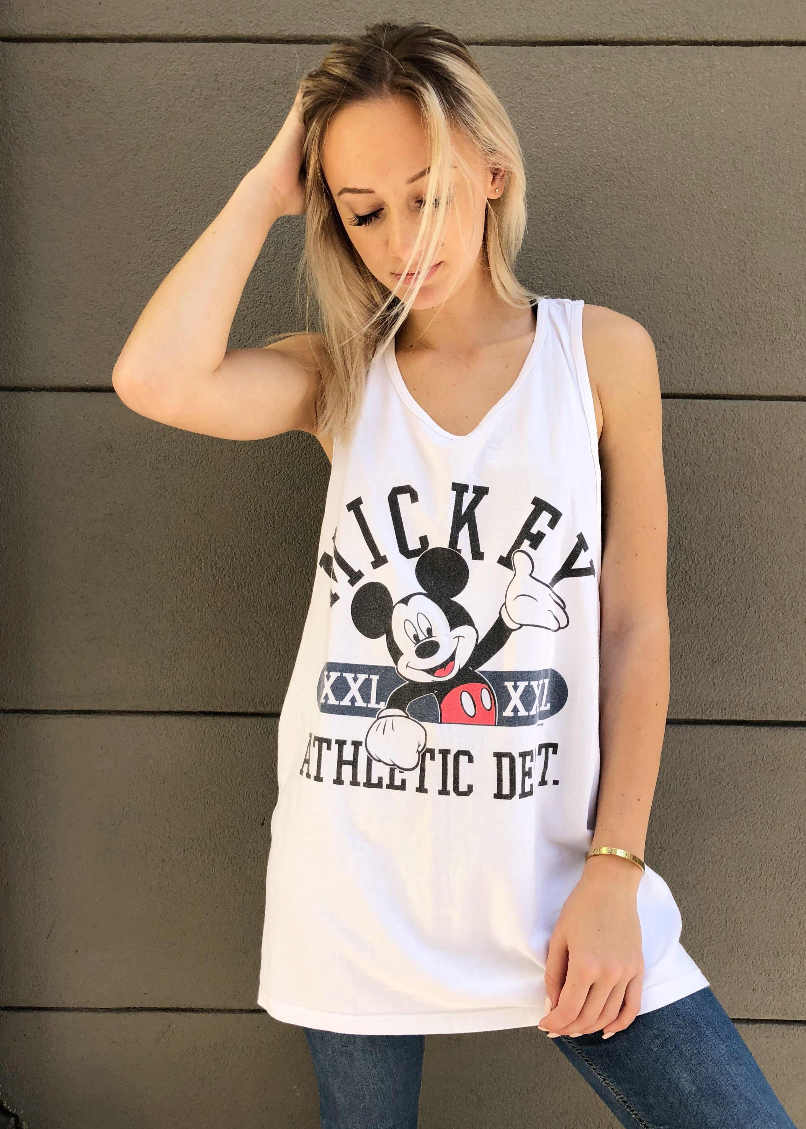 Mickey Athletic Department Tank