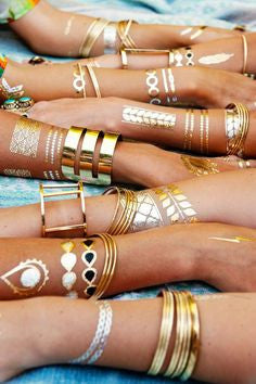 Sorority Metallic Tattoos - Shop Lost Generation  - 4