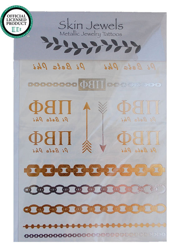 Sorority Metallic Tattoos - Shop Lost Generation  - 7