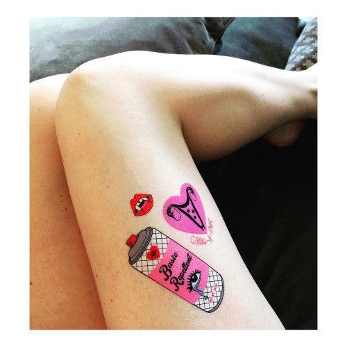 Love and Madness x Valfre Temporary Tattoos - Shop Lost Generation  - 3