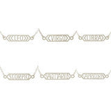 Kris Nations Naughty Zodiac Bar Necklace - Shop Lost Generation  - 4