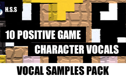 10 Positive Game Character Vocal Effects