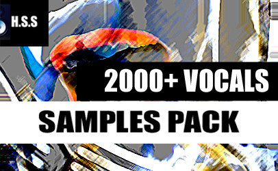 2000+ Vocal Loop Samples Pack