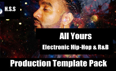 LADLX - All Yours - Electronic Hip-Hop & R&B Production Pack and Logic Pro Template