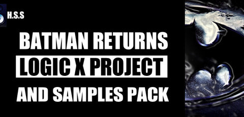 Batman Returns - UK Grime Logic Pro Project Template & Sample Pack