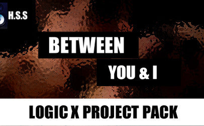 Between You & I - Logic X Project Template Pack