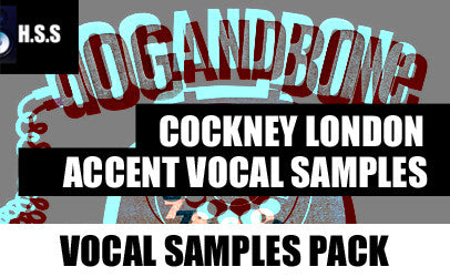 84 British Cockney London Accent Vocal Samples