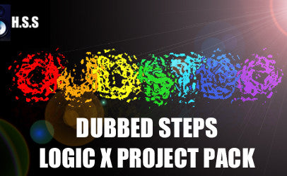 Dubbed Steps - Logic X Project Template Pack