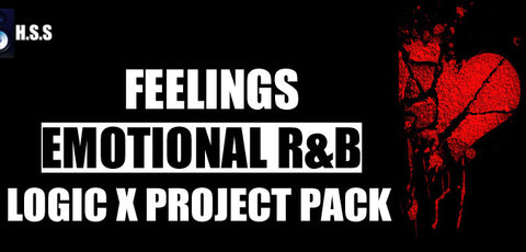 Feelings - Emotional R&B Instrumental Logic X Project Template