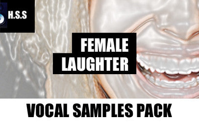 Girl Laughing Vocal Sample Pack