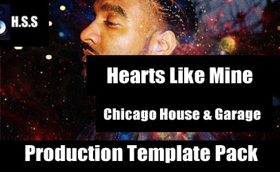 LADLX - Hearts Like Mine - Chicago House and Garage Logic Project Template Pack