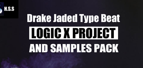 Drake Jaded Type Beat Logic Pro X Template Pack