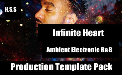 LADLX - Infinite Heart - Ambient Electronic R&B Logic Pro Project Template Pack