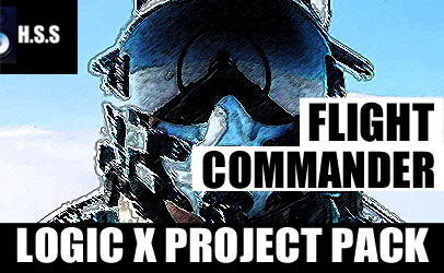 Flight Commander - Logic X Project Template Pack