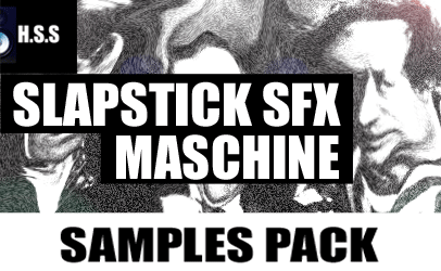 Slapstick Sound Effects Machine Samples Pack