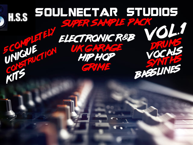 SoulNectar Studios Super Sample Pack Vol.1