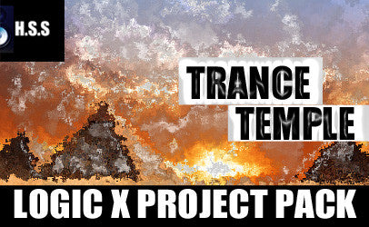 Trance Temple - Logic X Project Template Pack