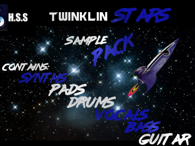 Twinklin Star - Electronic Hip Hop and R&B Sample Pack