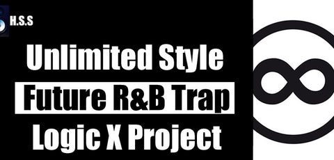 Unlimited Style - Minimal Future R&B Trap Hip Hop Rap Instrumental Logic Pro X Template