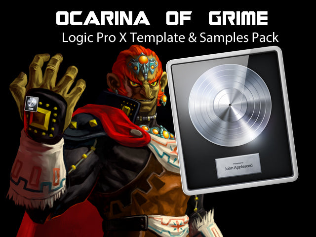 Ocarina Of Grime - Logic Pro X Grime Instrumental Template & Samples Pack