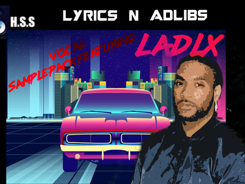Lyrics N Adlibs Vocal Sample Pack - Male Rapper Vocals - UK Male Vocals