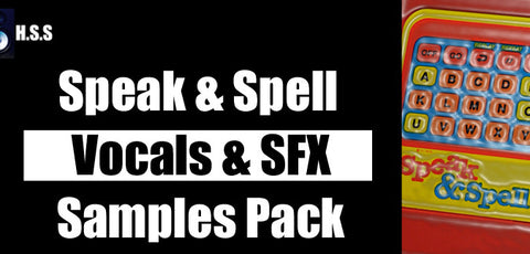 Speak & Spell Electronic Vocal Samples Pack