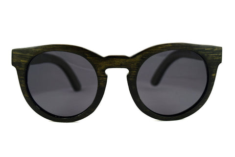Claire Smoke Bamboo - Westwood Sunglasses  - 1