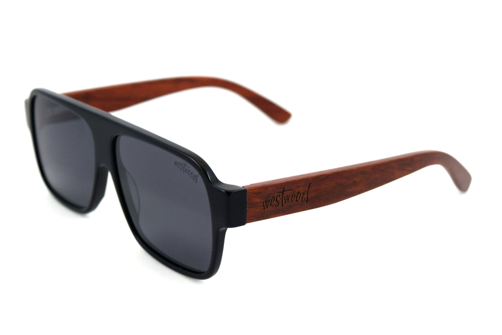 Dixon Black Redwood - Westwood Sunglasses  - 1