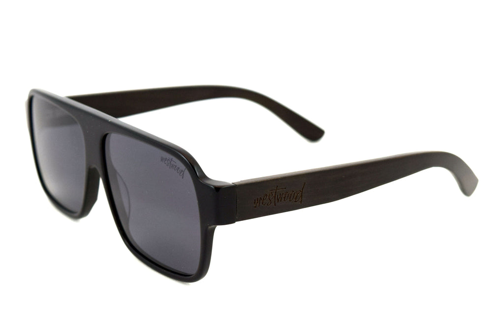 Dixon Black Ebony - Westwood Sunglasses  - 1
