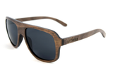 Lincoln Dark Beechwood - Westwood Sunglasses  - 2