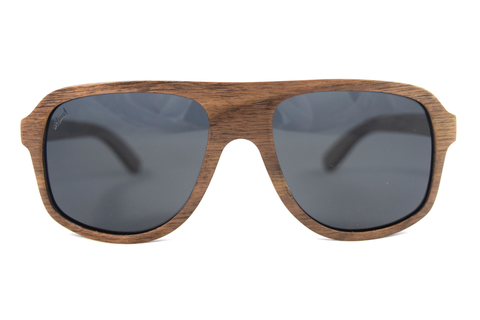 Lincoln Dark Beechwood - Westwood Sunglasses  - 1