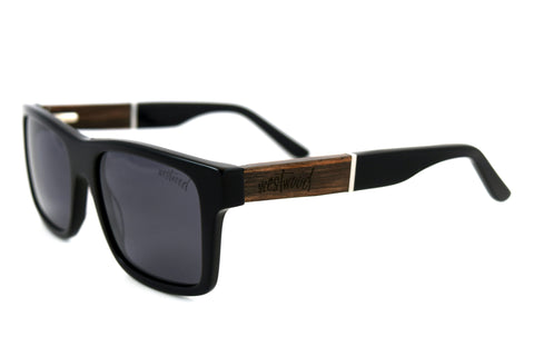 Lomond Black Ebony - Westwood Sunglasses  - 1