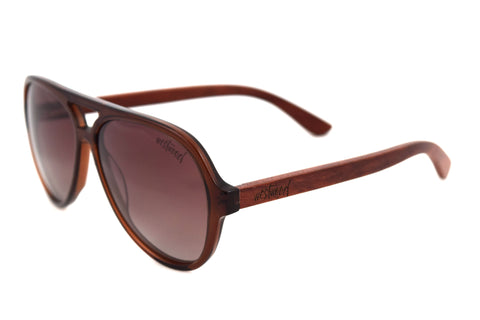 Teague Brown Redwood - Westwood Sunglasses  - 1