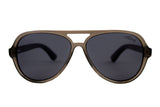 Teague Grey Ebony - Westwood Sunglasses  - 2