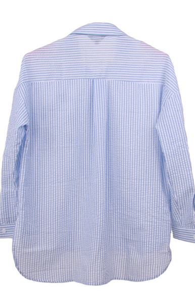 Alana, Striped Patchs Shirt