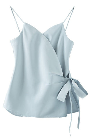 Trendy-Road-Style-Shop-Online-Woman-Fashion-Street-blouse-sleeveless-cross-tie-v-neck-backless-sky-blue