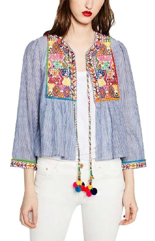 Trendy-Road-Style-Shop-Online-Woman-Fashion-Street-jacket-striped-colorful-embroidery-flower
