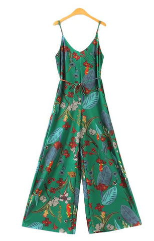 Trendy-Road-Style-Shop-Online-Woman-Fashion-Street-jumpsuit-green-floral-sleeveless-vneck