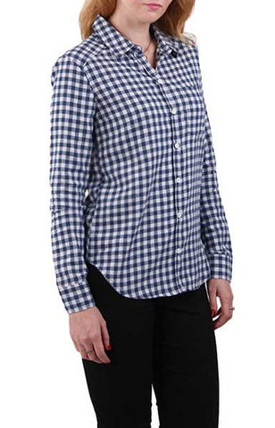 Trendy-Road-Style-Shop-Online-Woman-Fashion-Street-shirt-blouse-plaid-long-sleeve-blue-white