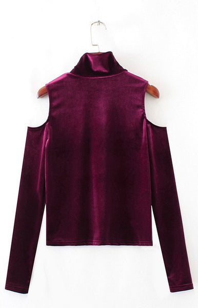 Trendy-Road-Style-Shop-Online-Woman-Fashion-Street-sweater-turtleneck-long-sleeve-off-shoulder-burgundy