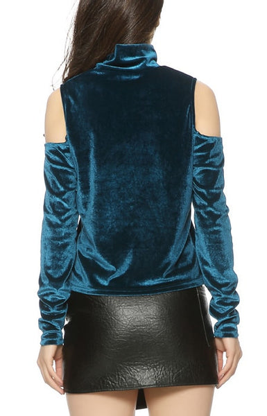 Trendy-Road-Style-Shop-Online-Woman-Fashion-Street-sweater-turtleneck-long-sleeve-off-shoulder-turquoise