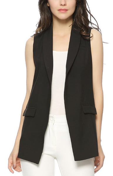 Trendy-Road-Style-Shop-Online-Woman-Fashion-Street-vest-pocket-sleeveless-turn-down-collar-black